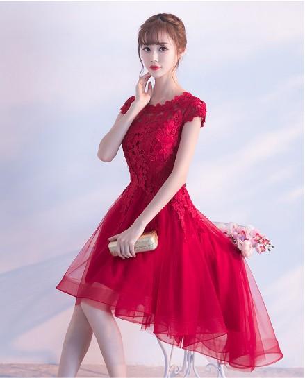 9ee36efbaebe9 ウェディングドレス 花嫁 結婚式ドレス パーティー二次会 プリンセス 流行りの花レース ドレス ワンピース 高級