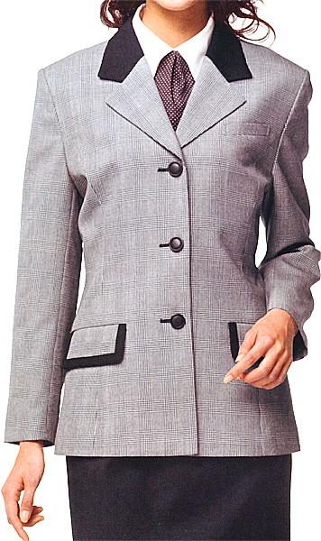 【現金特価】 E1169-8 ジャケット 全1色 (福本服装 ERGON エルゴン 事務服 制服), 子供服レディースバッグLBmarket:ddc84eb9 --- oeko-landbau-beratung.de