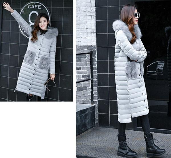 ダウンコート レディース アウター コート ロングコート 大きいサイズ フード付 ダウンジャケット 冬 防寒 アウター ファー レディース