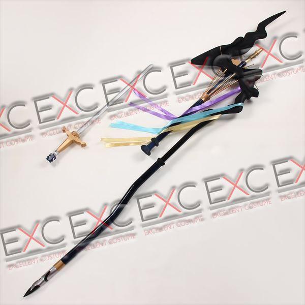 Fate/Grand Order マーリン 杖 風 コスプレ用アイテム