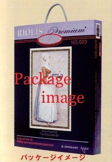 RIOLISクロスステッチ刺繍キット No.100/037 「Scarlet Poppies」 (スカーレット・ポピー 赤いポピー)