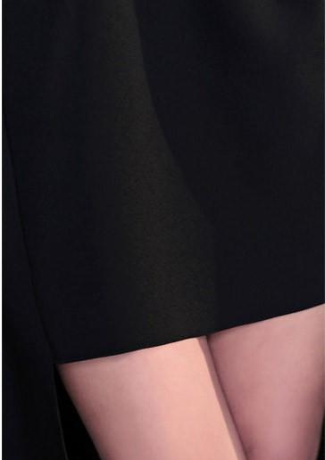 ミニ丈ワンピース オフショル フィッシュテール ブラックドレス ミニ丈 フレア オシャレ デザイン エレガント