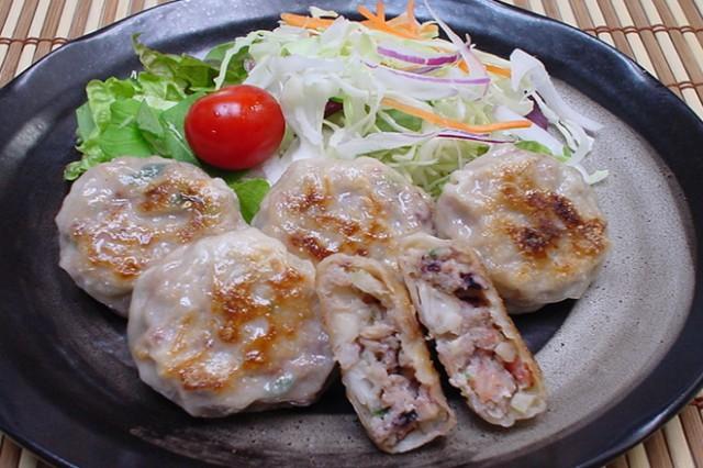 「国産」海鮮饅頭40個☆エビ!タコ!イカ☆人気の海鮮3種の旨みがギュッ!