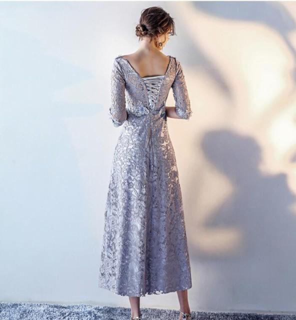 上品 可愛い お呼ばれ 花嫁 二次会 披露宴 卒業式 成人式 ウエディングドレス 膝丈 レース 大きいサイズ 大人 結婚式ドレス