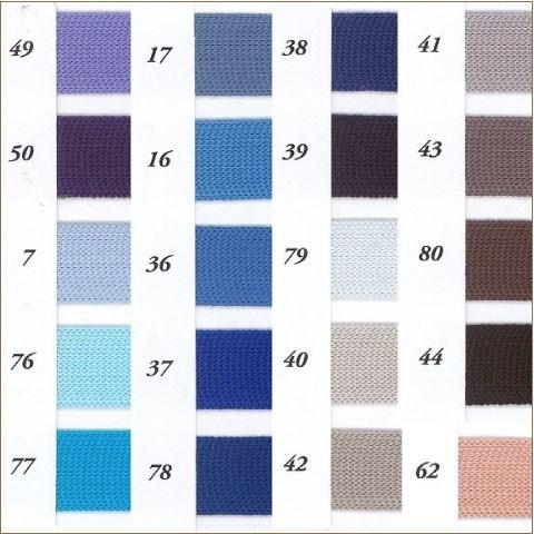 ポリエステル ニット テープ 9×9mm メーター売 全16色 手芸用 SHINDO 服飾 アパレル ハンドメイド SIC-105-W9