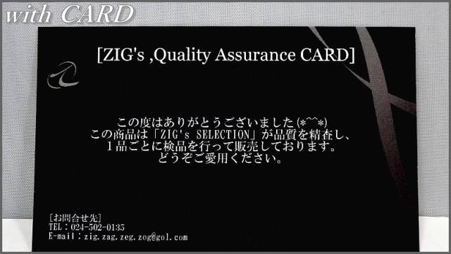 [ZIG's]/METALICなINTELLIGENCE,スリムにキマル/WELLINGTON型~独立型ノーズパッド/ZIG'sネーム入り/MATTE-BLACK/高品質/glzd02