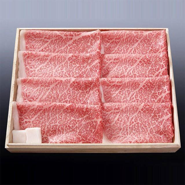 【即日発送・送料無料】桐箱入り・松阪牛・モモ肉すき焼き用A5 3人前(300g)わりした付き