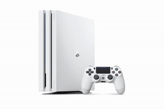 高質 【送料無料】【】PS4 PlayStation 4 Pro グレイシャー・ホワイト 1TB (CUH-7100BB02), カワサキク c82f0d83