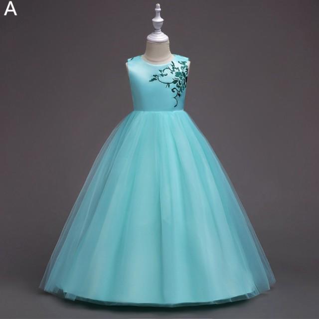 a95b14b4c545f 子供ドレス 結婚式ドレス フォーマルワンピース 女の子 ピアノ 発表会 七五三 ジュニアドレス プリンセス パーティー