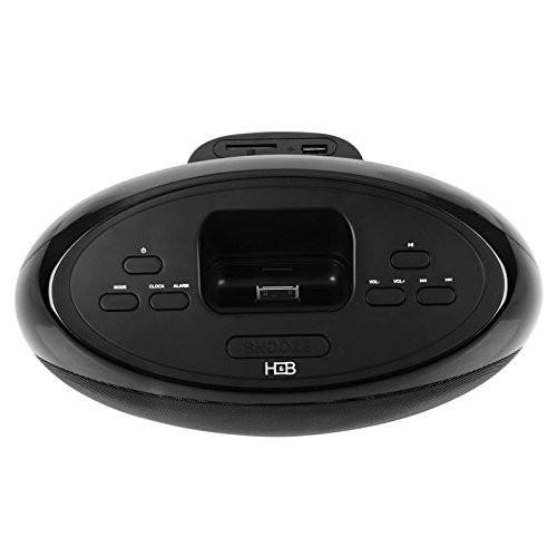 iPod / iPhone / iPod touch 用 スピーカー内蔵 ドッキングステーション H&B IP-26i 45W デジタルステレオFMチューナー USB SD MMC AUX