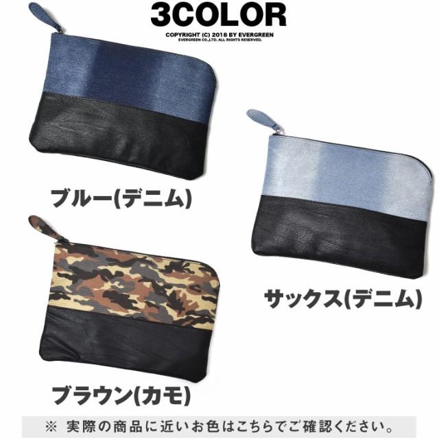 クラッチバッグ メンズ 小さめ 黒 レザー カジュアル メンズバッグ クラッチ 2way バッグ セカンドバッグ ミニ ビジネス デニム trend_d
