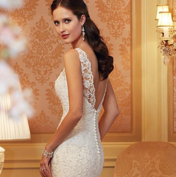 ウェディングドレス パーティドレス 二次会 結婚式 司会者 披露宴 花嫁 マーメイドライン ロングドレス結婚式