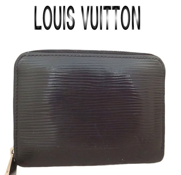 detailed look d05b5 09029 美品 LOUISVUITTON ルイヴィトン エピ ジッピーコインパース コインケース M60152【中古】【虹商店】  au Wowma!(ワウマ)