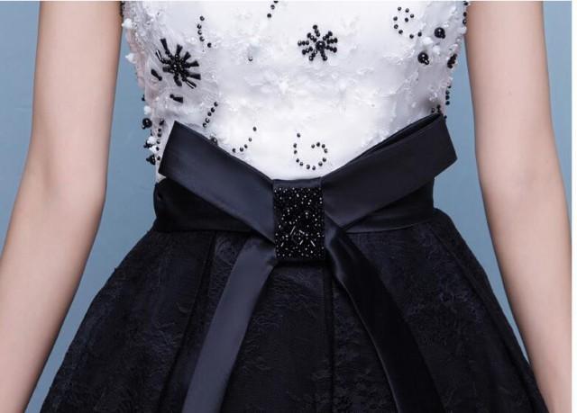 Vネックスタイリッシュ結婚式 花嫁 ゴージャス パーティードレス ウェディングドレス 披露宴 二次会 演奏会 ロングドレス