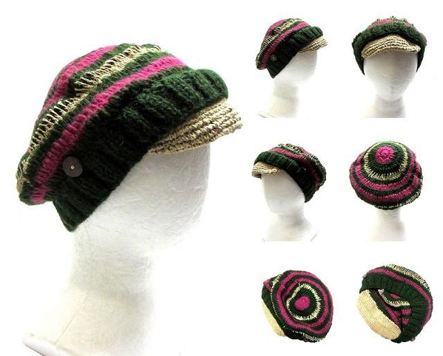 円模様カスケットエスニック帽子エスニック衣料雑貨エスニックアジアンファッション