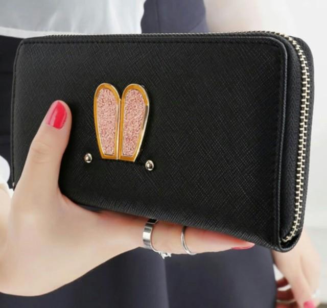 【送料無料】レディース 可愛い ウサギちゃん 長財布【即納】