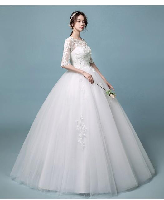 40ef40994b4a4 セール☆ウェディングドレス結婚式 二次会マタニティウエディングドレス パーティードレス ロングドレス 花嫁ドレス