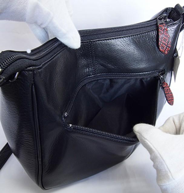 日本製  印伝 パッチワーク ショルダーバッグ