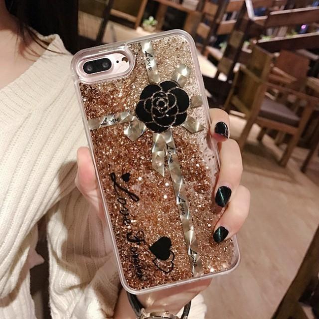 0b8c6da77f 【新発売】iPhone6s iPhone6splus キラキラ流れ星☆グリッターiPhone7 iphone7plus 専用ケース ストーン 化粧品