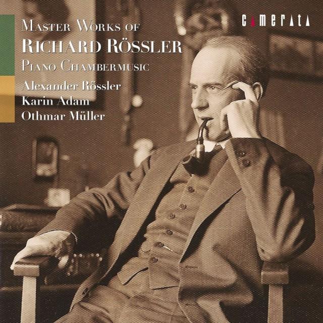 1802 新品送料無料 R.レスラー 室内楽作品集 アレクサンダー・レスラー、カリーン・アダム オトマール・ミュラー CD