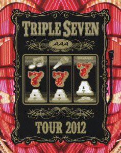 1804 新品送料無料 AAA TOUR 2012 -777- TRIPLE SEVEN (2枚組Blu-ray Disc)エイベ