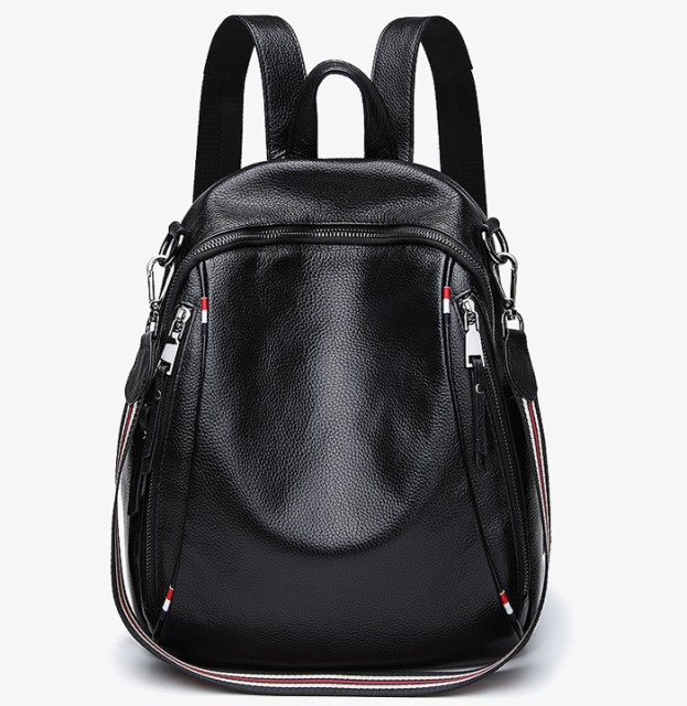 3way本革/牛革/Wファスナーレディースリュック レザーリュック レディース リュックサック 女性 通勤 通学 backpack rucksack bag