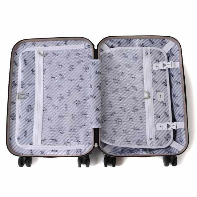 【ポイント10%】【即納・送料無料】【5年保証】エース スーツケース ace. ディズニー 機内持ち込み ミッキー&ミニー 限定 TSA 32L 06251
