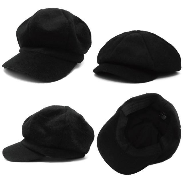 【P20倍】帽子 キャスケット 深め&小顔効果 フェルト風2WAYバルーンキャスケット 全4色 hat-1288