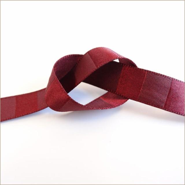 横段 ストライプ サテン テープ 12mm メーター売 全21色 SHINDO 服飾 手芸 ラッピング ハンドメイド SIC-231-12