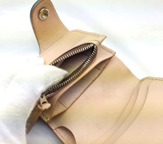 ケイシイズ ケーシーズ KC,s 送料無料 国産 アメカジ ショートウォレット 二つ折り財布 革財布 ライダースウォレット バイカー