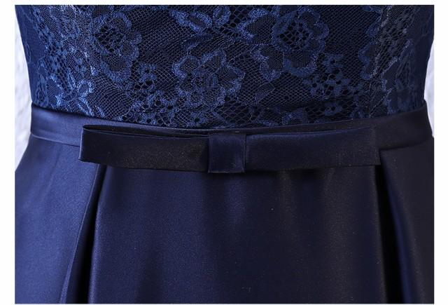 Formal dress 立ち襟 袖あり 司会 ミモレドレス 豪華 パーティードレス フォーマルドレス ミディアム丈 卒業式 成人式 宴会 ファスナー