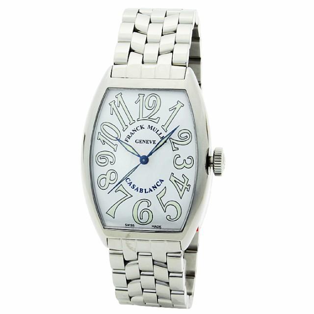 low priced 0259d 5a302 フランクミュラー FRANCK MULLER カサブランカ CASABLANCA メンズ 時計 ウォッチ 5850CASA ホワイト文字盤|au  Wowma!(ワウマ)