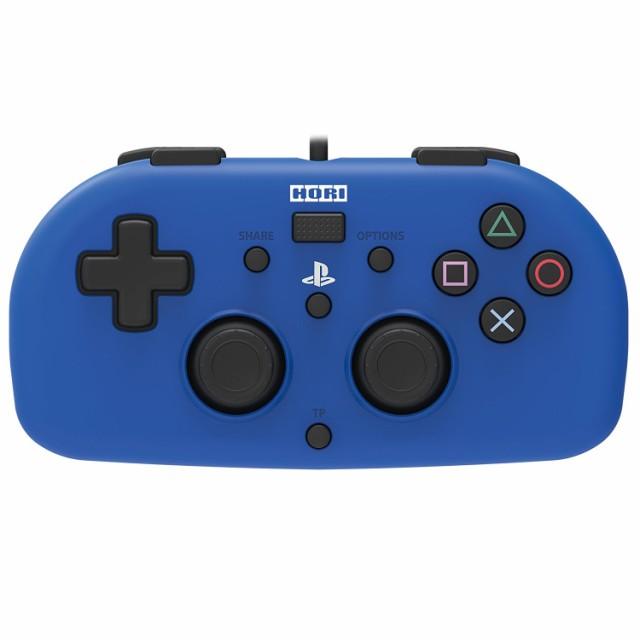 【即日出荷】ワイヤードコントローラーライト for PS4 ブルー 900241【ネコポス不可】