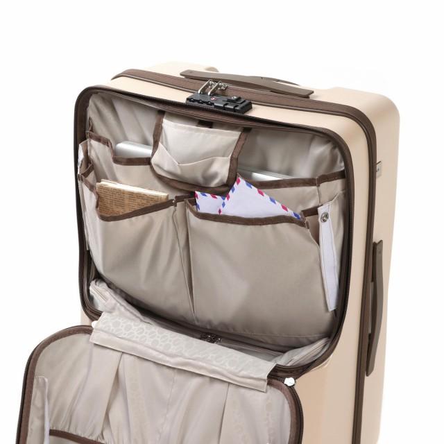 【ポイント10%】【即納・送料無料】エースジーン スーツケース ace. GENE BC LINKONE フロントオープン 67L 5~6泊 エース 旅行 06262