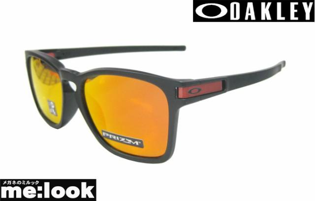OAKLEY オークリー サングラス Latch SQ ラッチSQ OO9358-1155 009358-1155 マットブラック /プリズムルビーイリウジウム