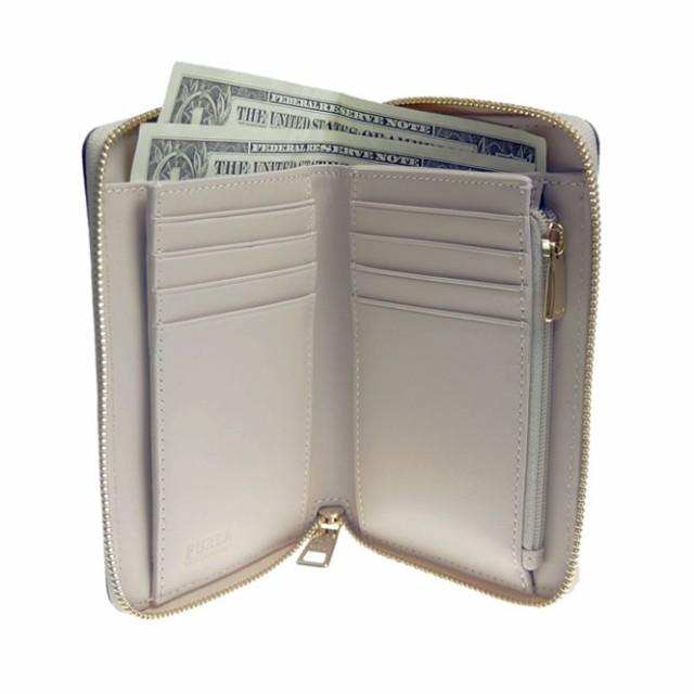 FURLA フルラ レディース二つ折財布(小銭入れ付き)BABYLON / PT16 OAS(924566)グレージュ /2018春夏新作