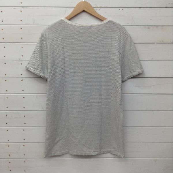アーペーセー 半袖Tシャツ 2017090721 黒 / ブラック白 / ホワイト A.P.C. ボーダー