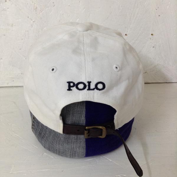 ポロラルフローレン 帽子 010124 白 / ホワイト POLObyRalphLauren