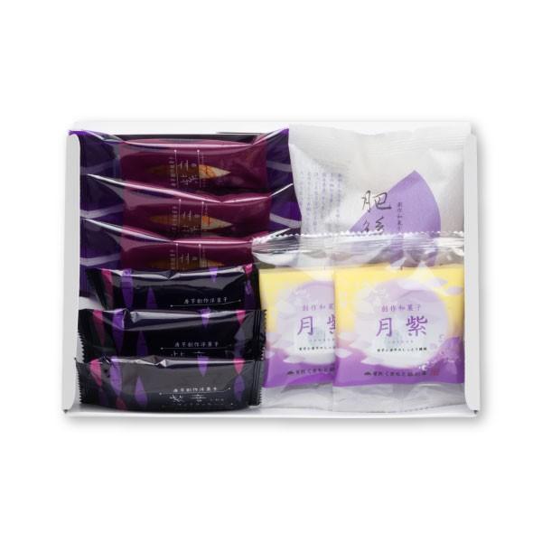 【メール便☆送料無料】くまもと銀彩庵お試しセット<紫芋スイーツが4種楽しめるお得なセット>
