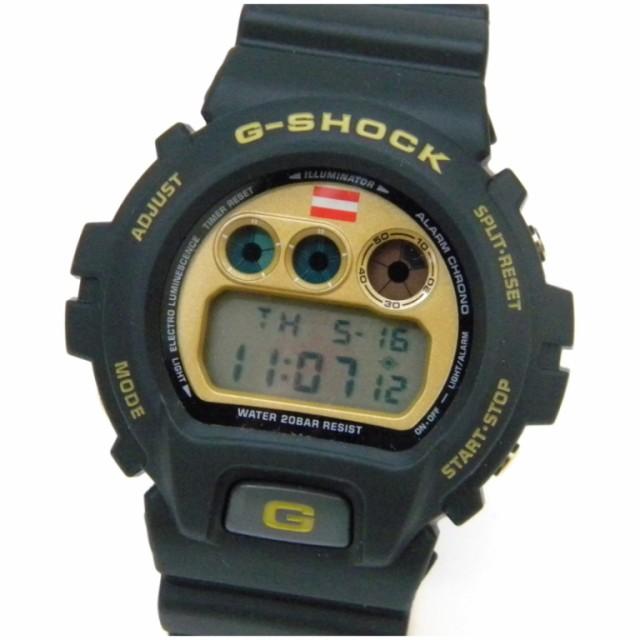 訳あり商品 カシオ 腕時計 G-SHOCK 坂本龍馬コラボモデル DW-6900BRYO-9JF 黒×ゴールド 【】(46494), 一六本舗 1d3887ea