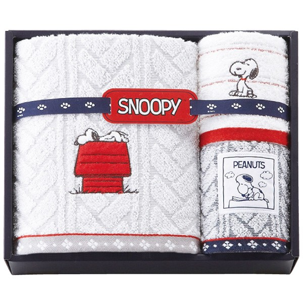SNOOPY スヌーピー バス・ウォッシュタオルセット 2276-11654(a18-1112-070a4)