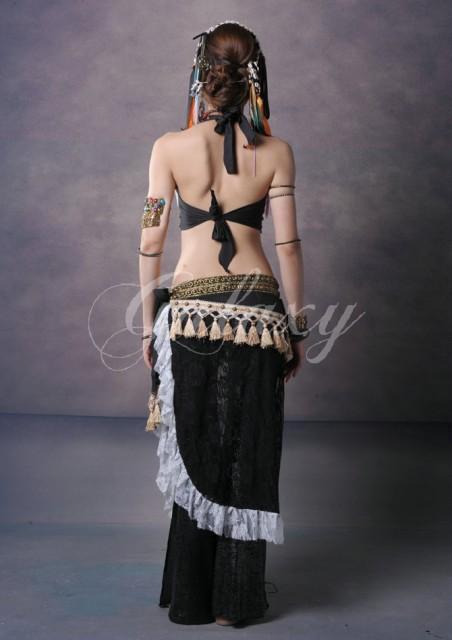 ATS ベリーダンス インドダンス 民族衣装 2色 3点セット セクシー 高品質 豪華 ダンス衣装 rysj00733【送料無料】(rysj00733)