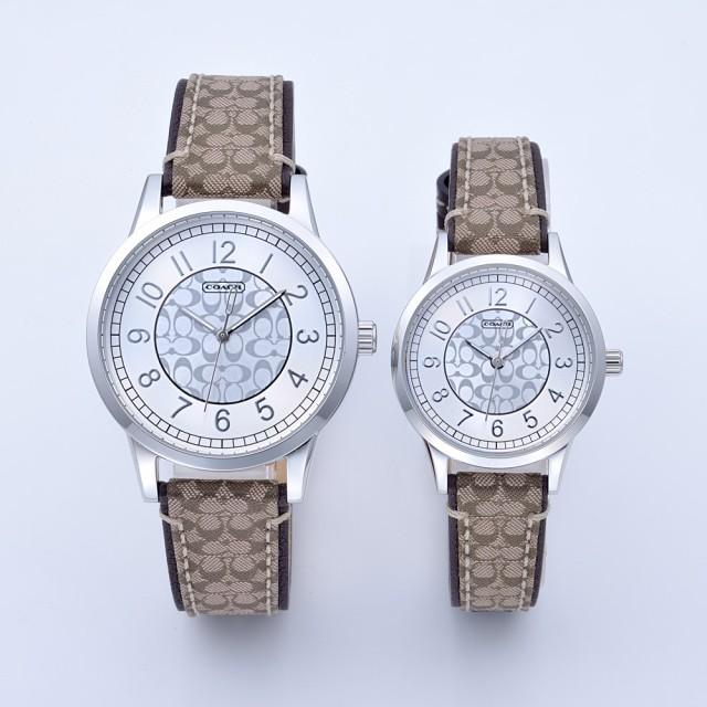 【上品】 腕時計 14000042 シルバー ペアウォッチ COACH コーチ-腕時計ペアウォッチ