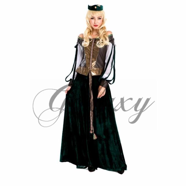 ロングドレス 中世ヨーロッパ コスプレ 衣装 ps1763|au Wowma!(ワウマ)
