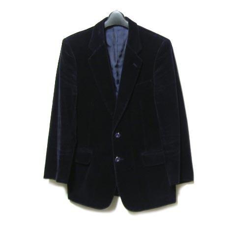 vintage niedieck brilliant velet「ネイビー」クラシックテーラードジャケット (classical tailored jacket) 046296【】