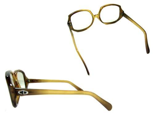 Vintage old Christian Dior ビックスクエアーフレーム サングラス(ヴィンテージオールド クリスチャンディオール) 048384
