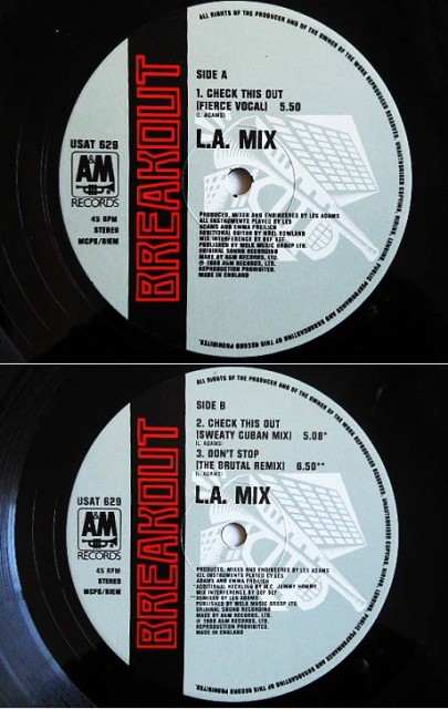 L.A. MIX CHECK THIS OUT (アナログ盤レコード SP LP) 065686