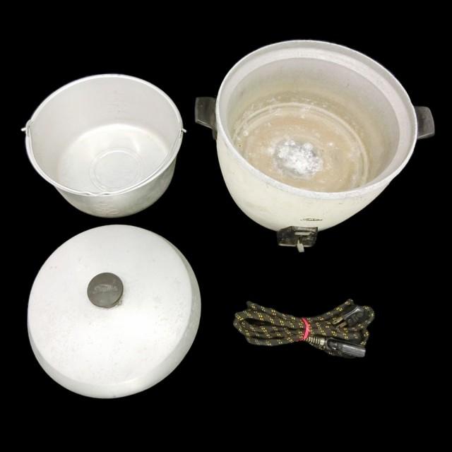 Vintage TOSHIBA ヴィンテージ 東芝 電器式 炊飯器 (東京芝浦電器株式会社) 073230