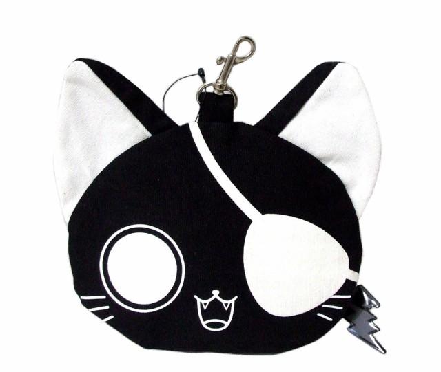 【新品】廃盤 nyanpire にゃんぱいあ フェイスポーチ (猫 ねこ ネコ) 090734
