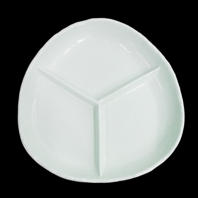 Natural ナチュラル 陶器ランチプレート 3枚セット (陶器 皿) 092598